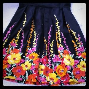 Gorgeous Floral A Line Dress